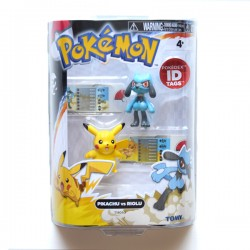 Pack Pikachu vs Riolu